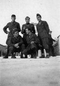 Partenza per la cagna di grecia. uniforme di combattimento. danilo